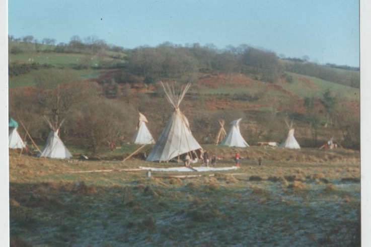 Tipi Valley in January 1999. Credit - Rik Mayes.